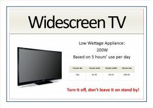 Appliance signs edit4 - widescreen tv