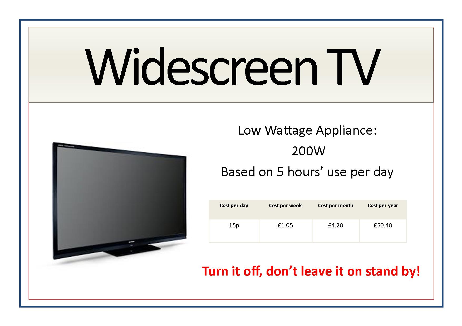 Appliance signs edit4 - widescreen tv