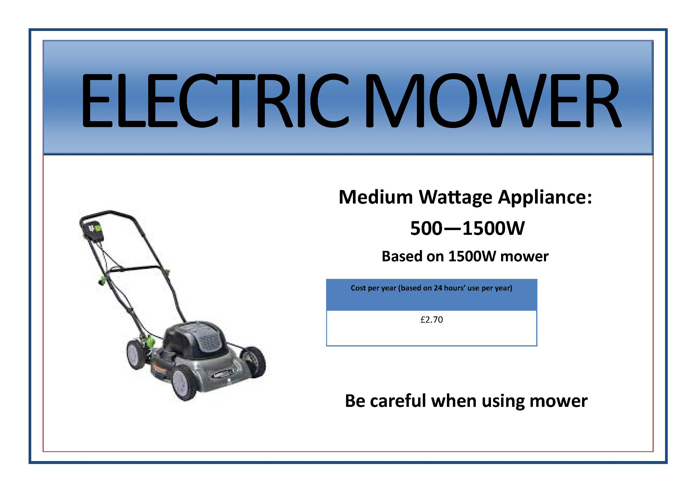 Appliance signs edit4 -M- lawnmower